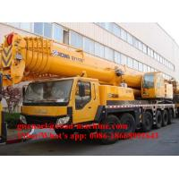 Wholesale Lifting 35000KG Telescopic Boom Crane 47700mm Lifting Heigth 4 Automatic Landing Gear from china suppliers