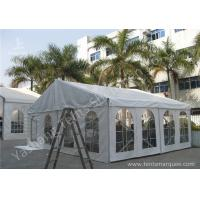 Wholesale Transparent Soft PVC Windows Fabric Tent Structures with 10m by 10m from china suppliers