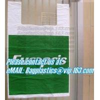 Wholesale vest carrier, t shirt bags, rubbish bags, handy bags, handle bags, shopper, LDPE, HDPE, MD from china suppliers