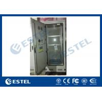 Wholesale Custom 4 Shelves Outdoor Battery Cabinet Galvanized Steel 5% - 100% Relative Humidity from china suppliers