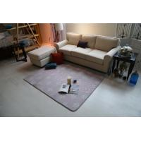 Wholesale Anti - Skidding Washable Living Room Carpet Dyed / Burnout Fabrics OEM Service from china suppliers