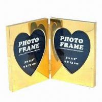 Wholesale Fashionable Foldable Double Aluminum Photo Frame, Available in Various Styles and Colors from china suppliers