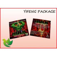 Wholesale Customized Herbal Incense Bags PET VMPET LLDPE Zip Top Bag For Tobacco from china suppliers