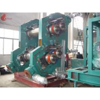 Wholesale Alloy Chilled Cast Iron 4 Rollers Rubber Calender Machine 3-30m / min 0.3 – 6 mm from china suppliers