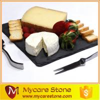 Wholesale natural slate stone pizza stone slate cheese board with best price from china suppliers