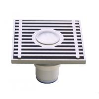 Wholesale Rectangle Brass Floor drain with Pattern, PG1002-50A from china suppliers