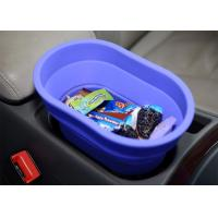 Wholesale Flexible Food Safe Silicone Collapsible Bucket For Car , Collapsible Camping Bucket from china suppliers