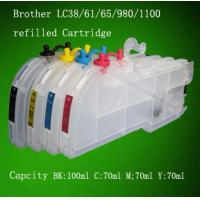 Wholesale Refill ink cartridge for Brother (LC38 cartridge) printer from china suppliers