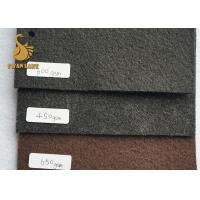 Wholesale 200GSM Grey No-slip Non Woven Material With Flower Standard Pvc Dots Needle Punched Felt from china suppliers