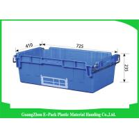 Wholesale Logistics Plastic Stackable Containers Supermarkets VirginPP from china suppliers