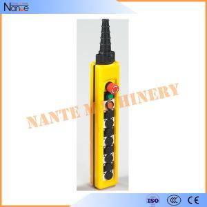 Wholesale Industrial Rainproof Hoist Pendant Control AC50Hz / 60Hz EN 60947-5-1 from china suppliers