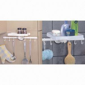 Wholesale Suction racks with towel shelf, suction shelf, suction hook, suction button from china suppliers