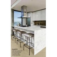 Buy cheap man made Quartz stone Slab Countertop Vanity Top with CE certified from wholesalers