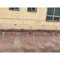 Wholesale Construction Site Fence  galvanzde pipe fence Portable Steel Temporary Fence, Metal Fence from china suppliers