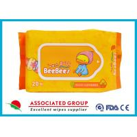 Wholesale Eco Friendly All Natural Baby Wipes Unscented Disposable Biodegradable from china suppliers