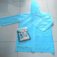 Wholesale Plastic Poncho with Buttons and Hood from china suppliers