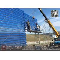 Windbreaker Fencing Wall for Coal Storage area