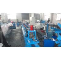 Wholesale 3 inch 10-15m / min Production Capacity Door Bottom Rail Cold Roll Forming Machine With CE Certificated from china suppliers