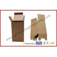 Wholesale E / F Flute Custom Folded Corrugated Paper Box from china suppliers