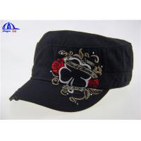 Wholesale 100% Cotton Woven Military Baseball Caps from china suppliers