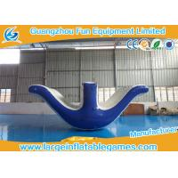Wholesale Backyard Inflatable Water Park Games / Inflatable Water Seesaw For Aqua Park from china suppliers