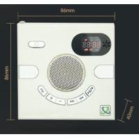 Quality Hot sales quran Wall Speaker Switch Design AUX Multi-functional Stereo With FM TF Card USB Time Display MP3 for sale