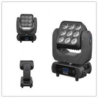 Wholesale Color Disco Lighting LED Wash Moving Head RGBW 9pcs 10W 15 / 21 / 49 Channel from china suppliers