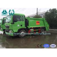 Quality 4X2 Howo Light Duty T5G Garbage Compactor Trucks Air Suspension System for sale