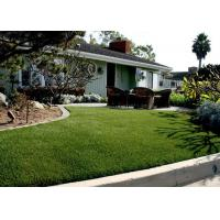 Buy cheap U - shaped residential artificial grass , Monofilament , 14000 dTex from wholesalers