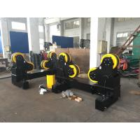 Wholesale Black Painting Moving Type Pipe Welding Rollers Coating With Rubber , 60Ton Capacity from china suppliers