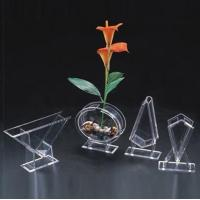 Wholesale Acrylic Flower Holder & Acrylic Flower Display Rack & Lucite Stand from china suppliers