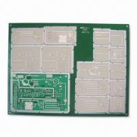 Wholesale High Impedance Board with 4/4mil Minimum Width/Spacing and Immersion Silver Finish from china suppliers
