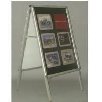 Wholesale Custom made A - board Metal Display portable recyclable easy to carry from china suppliers