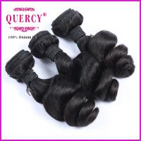Buy cheap Soft Human Hair Loose Wave 100% Unprocessed Virgin Indian Hair Weaving from wholesalers