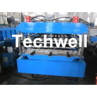 Wholesale Steel / Metal / Iron Wall Cladding Roll Forming Machine from china suppliers