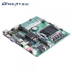 Wholesale VGA HDMI 2 SATA LGA1155 Motherboard , Intel H61 Chipset Motherboard from china suppliers