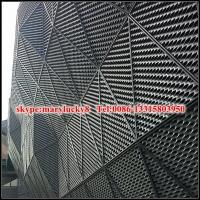 Quality aluminum expanded metal mesh facade panels for sale