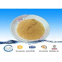 Quality Yellow powder water treatment chemical PFS 233-072-9 EINECS NO for sale