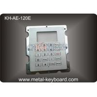 Wholesale Stainless Steel Gas Station Rugged Keypad with 20 Keys , Panel Mount Keypad from china suppliers