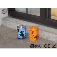 Wholesale Lovely Halloween Flameless Candles , Led Halloween Candles 100 / 180 / 375g from china suppliers