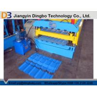 Buy cheap Full Automatic Metal Roof Panel Roll Forming Machine With 1 Year Warranty from wholesalers