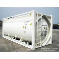 Wholesale 20FT TANK CONTAINER FOR BULK CEMENT  for sale Portable iso Tank Container  WhatsApp:8615271357675  Skype:tomsongking from china suppliers