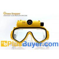Wholesale Ocean Snapper - Underwater Scuba Mask with Detachable DVR (2560x1920 JPEG, 640x480 AVI) from china suppliers