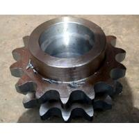 Wholesale Forging Parts , Conveyor Parts Sprocket Duplex Chain Wheel for Transmit from china suppliers