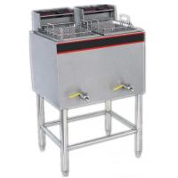 Wholesale Stainless Steel Commercial Induction Fryer 14L * 2A For Hotel / Buffets from china suppliers