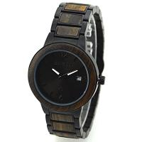 Wholesale Personalized Black Sandalwood And stainless steel back watch FOR promotional from china suppliers