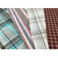 """Wholesale Brushed 100% Cotton Fabrics 57/8"""" Width red white 21*21 62*52 from china suppliers"""