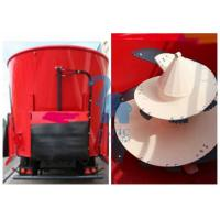 Wholesale Double  Augers Horse Feed Mixer Wagons , Big Volume Tub Mixer Wagon from china suppliers