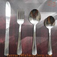 Wholesale Wholesale 48pcs America Cheap Tumble Polish Bulk Cutlery Set from china suppliers
