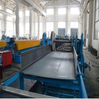 Wholesale 5 Ton Hydraulic Decoiler Cable Tray Roll Forming Equipment With Servo Feeding from china suppliers